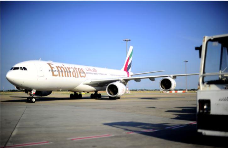 Emirates à Lyon-Saint Exupéry - crédit photo O.Chassignole