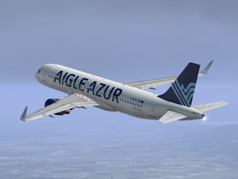 La ligne Lyon - Nantes sera opérée en A320 par Aigle Azur - Photo Aigle Azur