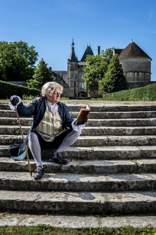 """A Talcy, """"allons voir si la rose..."""" - DR : OT Blois-Chambord -Val de Loire"""
