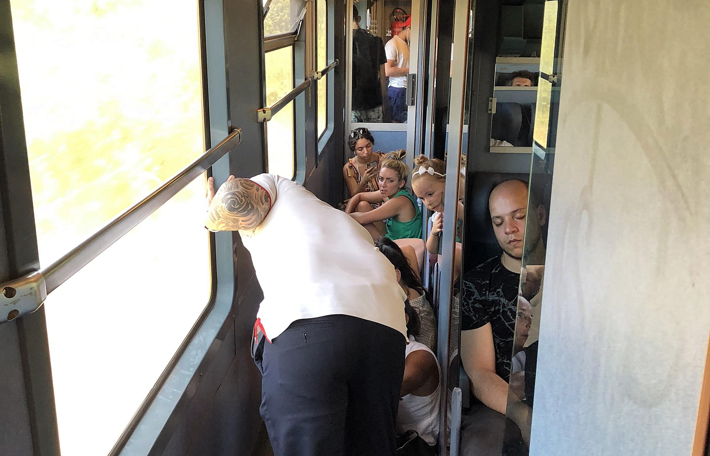 La 1ère classe sur le TER Marseille-Cannes... ça laisse rêveur, non ? - DR
