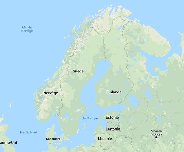 Pas moins de 25.000 hectares sont déjà partis en fumée en Suède - DR