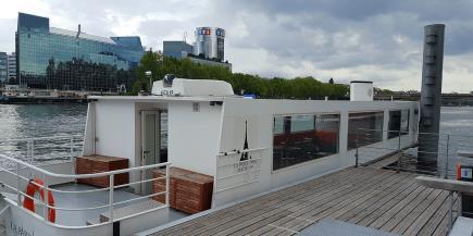 PARISCityVISION a acheté un navire La Parisienne doté d'une terrasse et d'une capacité de 20 à 50 places - DR