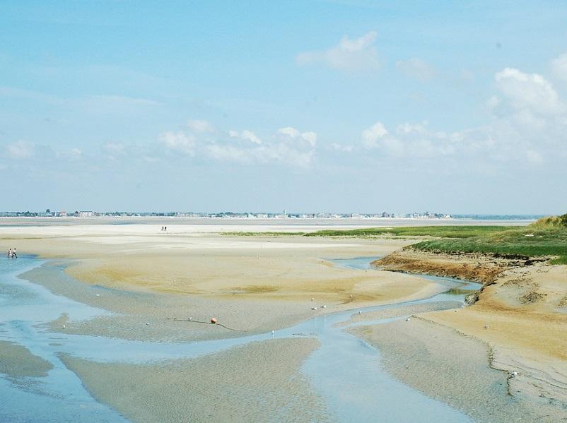 Les Hauts-de-France font partis des régions qui attirent - La Baie de Somme au Hourdel et Le Crotoy - photo : creative commons / isamiga76