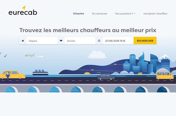EureCab, le comparateur de prix entre Taxi et VTC - Crédit photo : EureCab
