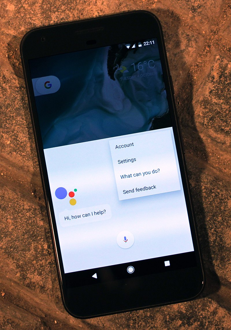 Les téléphone android équipé de la technologie Alexa pourront accéder à la reconnaissance vocale sur TripSource - crédit photo Maurizio Pesce / wikicommons