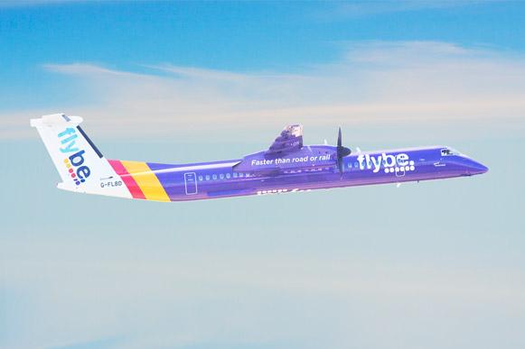 Pour cet hiver 2018-19, Flybe étoffe ses vols au départ d'Exeter. La compagnie ajoute une deuxième fréquence quotidienne Paris Charles de Gaulle (excepté les samedis). -  DR Photo Flybe