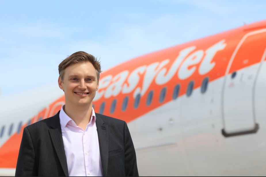 Reginald Otten, directeur général adjoint d'easyJet en France - easyJet