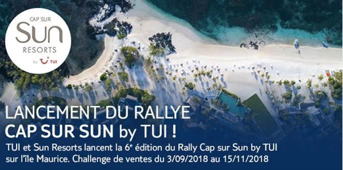 Challenge de ventes : c'est parti pour le 6e Rallye Cap sur SUN by TUI !