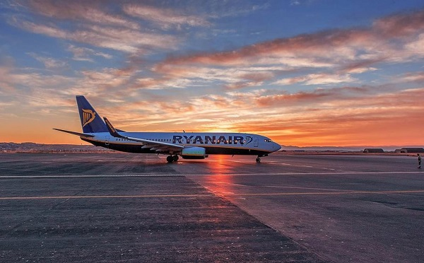 NOuvelle menace de grève chez Ryanair - Crédit photo : Ryanair