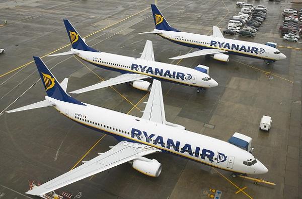 Les avions au sol seront nombreux en Allemagne, ce mercredi 12 septembre 2018 - Crédit photo : Ryanair