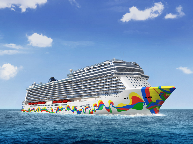 Le Norwegian Encore partira de Miami dès novembre 2019 - crédit photo : Norwegian Cruise Line