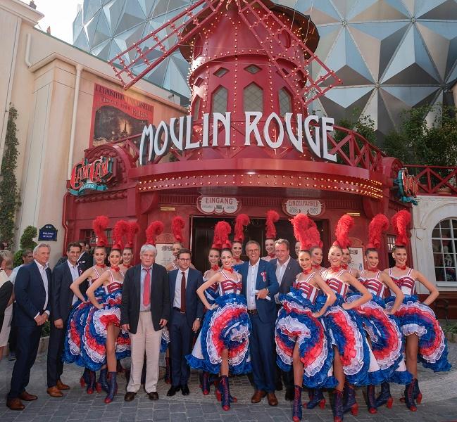 Partenariat entre le parce et le Moulin Rouge - Crédit photo : Europa Park
