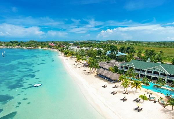 L'hôtel Sandals Negril en Jamaïque apparaît dans la mini-brochure du TO Empreinte - Crédit photo : Sandals