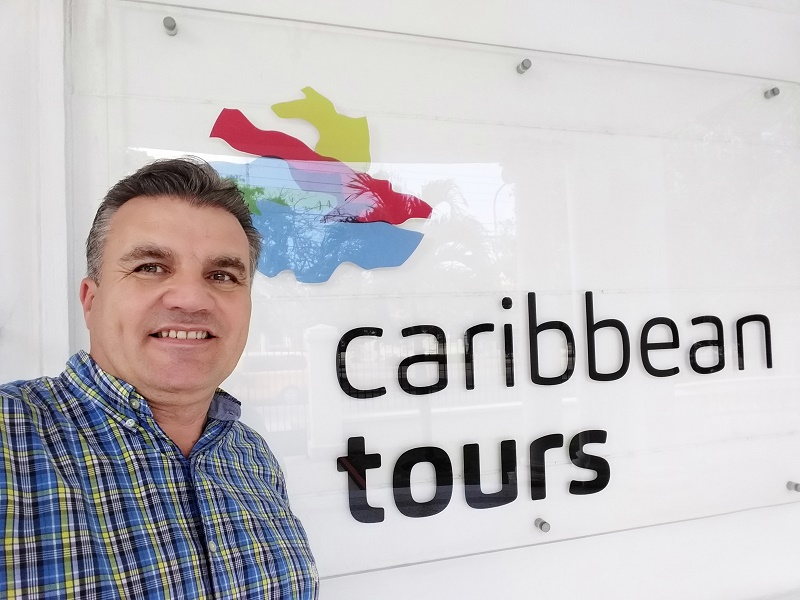 Caribbean Tours vient de recruter Philippe Mélul pour s'implanter sur les marchés francophones - DR : Caribbean Tours