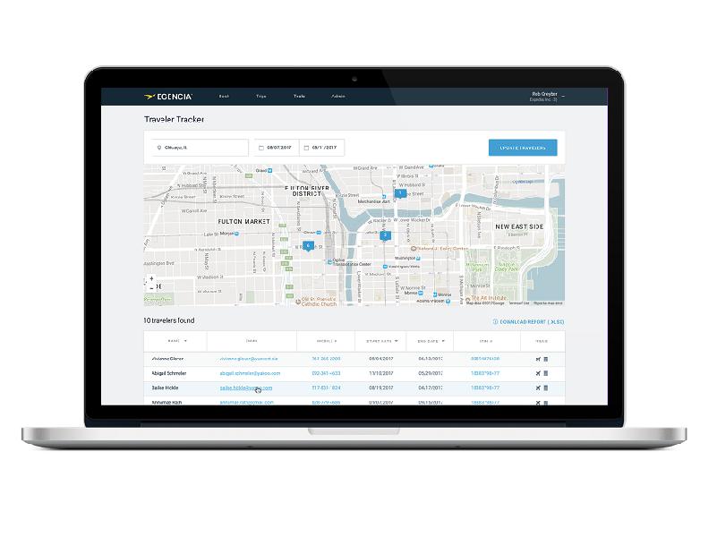 Egencia développe des outils pour ses clients - crédit photo : egencia