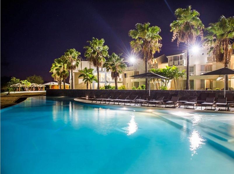 Le Karibea Sainte Luce Hôtel est l'une des belles réussite cette année, avec dès le 1er semestre 2018 une performance de +13% - crédit photo : Karibea