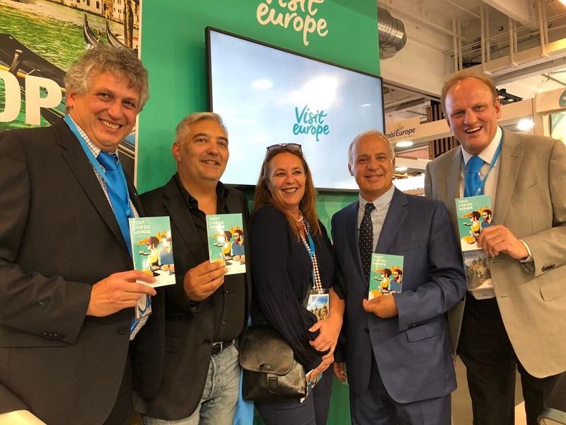 L'équipe de Visit Europe a lancé sa série de romans policiers - DR JDL