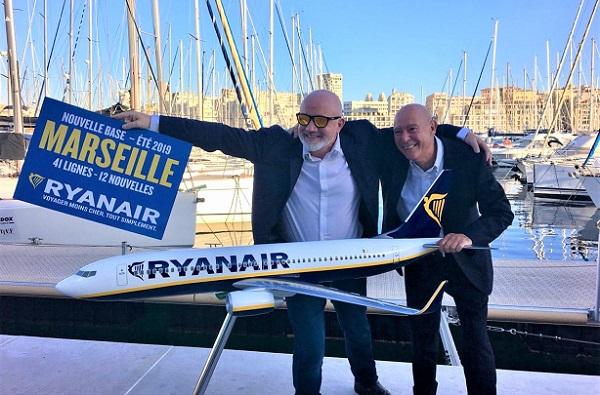 Ryanair main dans la main avec l'aéroport de Marseille - Crédit photo : RP