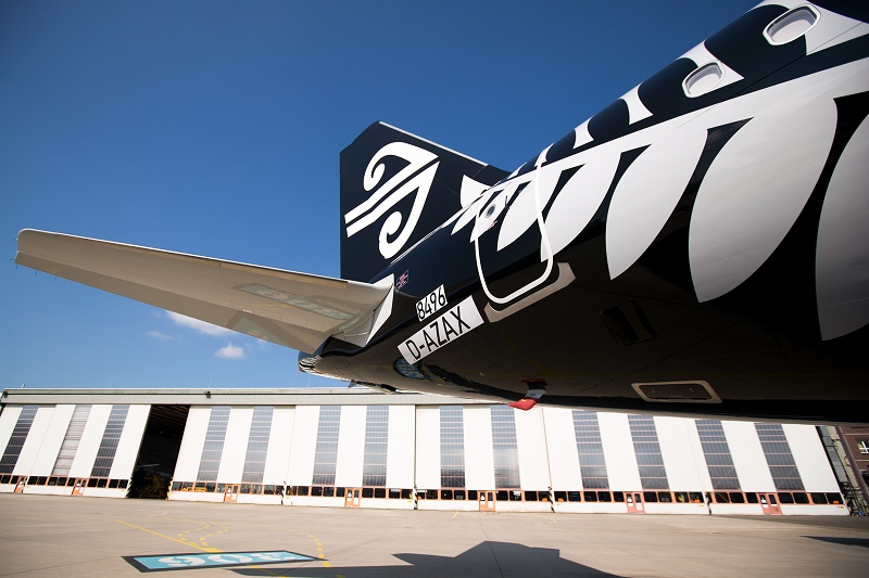 Nouvel A321neo d'Air New Zealand - DR