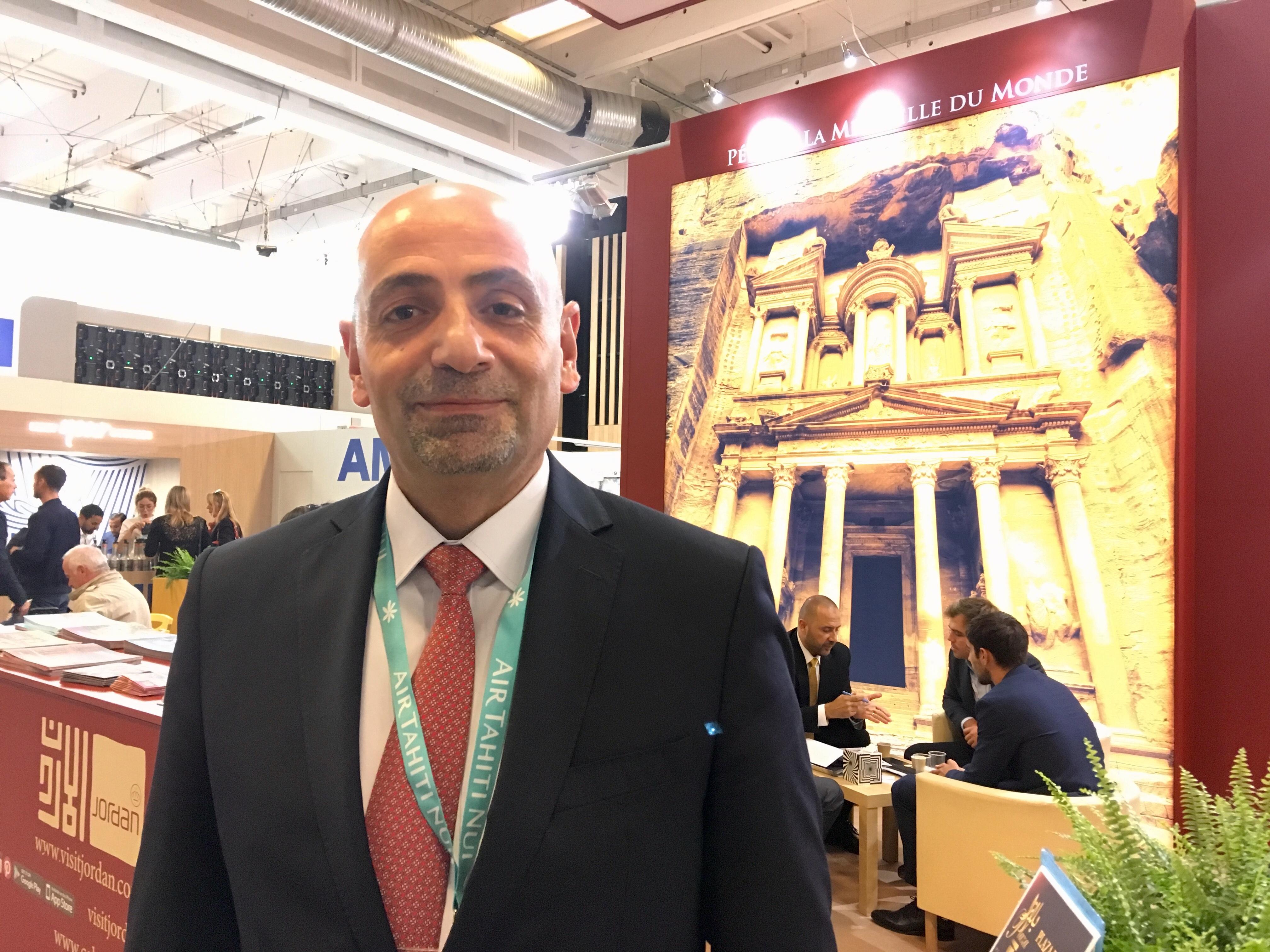 Dr. Abed Al Razzaq Arabiyat, directeur dénéral du Jordan Tourism Board - DR : CL