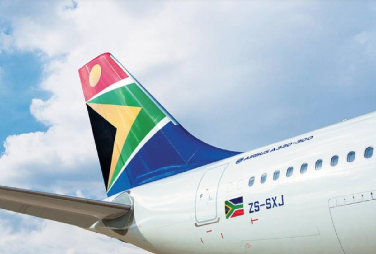 South African Airways, ex-première compagnie africaine, est officiellement en banqueroute © Fly SAA FB