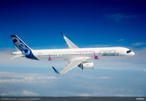 Airbus : l'A321LR reçoit son homologation mais perd un client