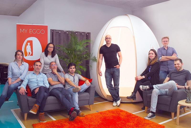 My Eggo : cabine de modélisation 3D, munie de 400 minuscules appareils photos - DR