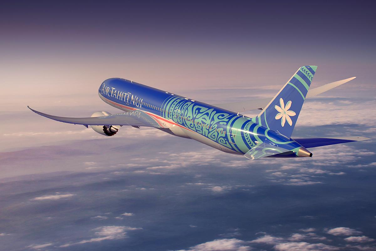 """Air Tahiti Nui va recevoir 4 Boeing """"Tahitian Dreamliner"""", dont 2 ont été acheté en propre © ATN"""