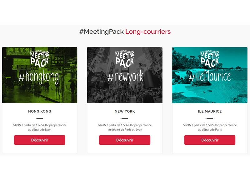 Ailleurs Events lance des MeetingPack prêts à l'emploi - crédit photo : Marietton Développement