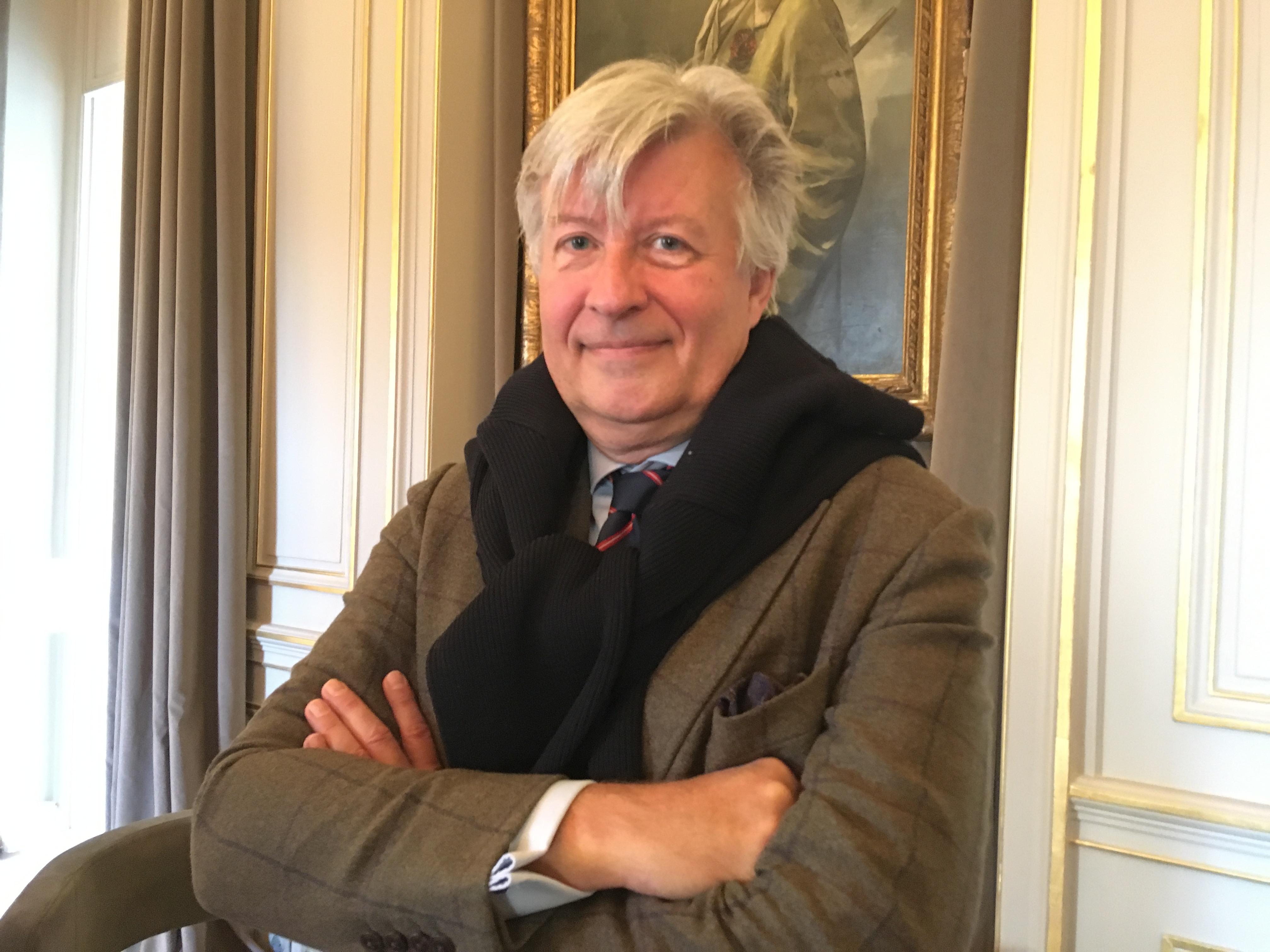 Hervé Tribot La Spière, PDG d'Explorator. - CL