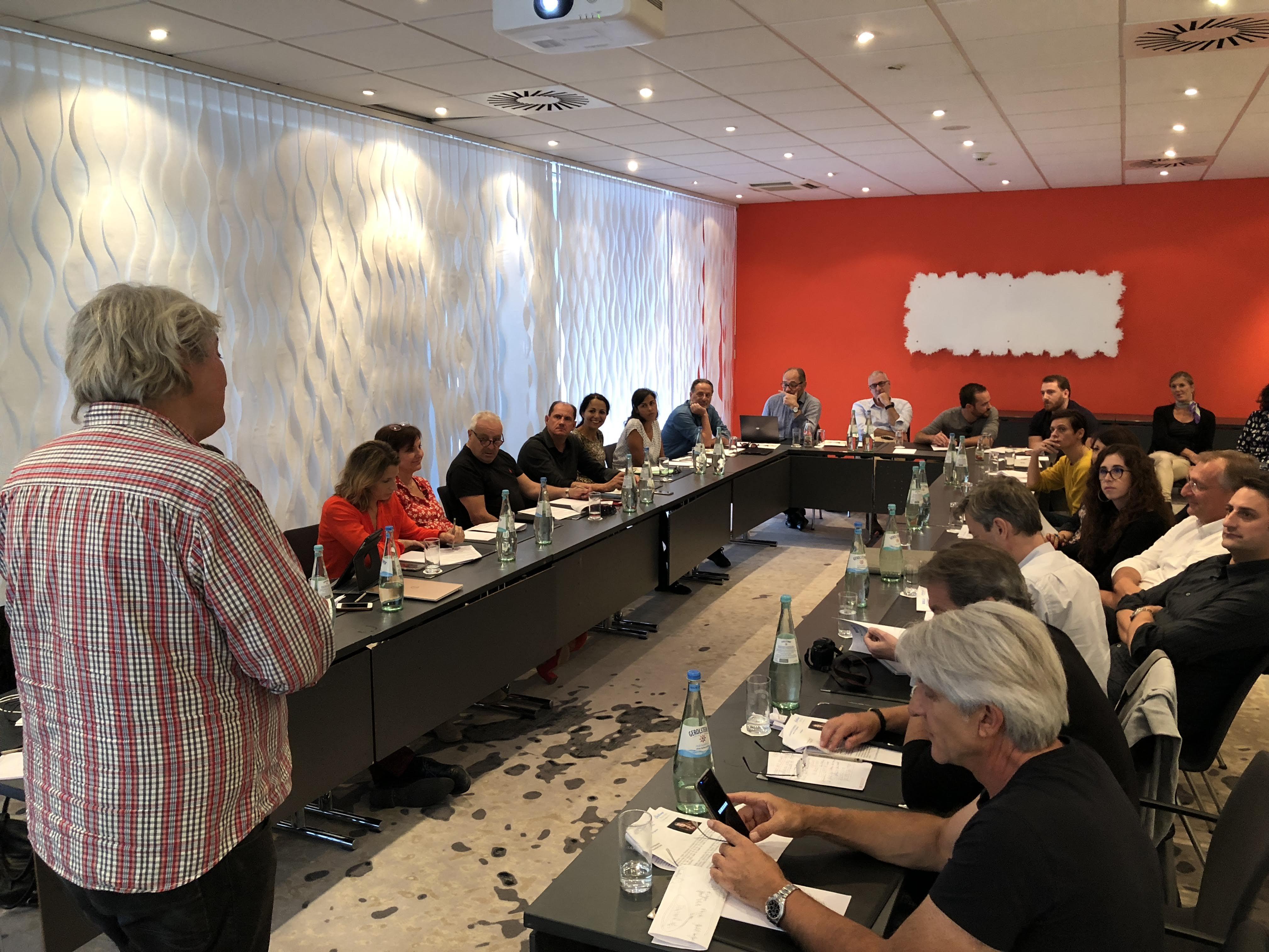 Blogueurs et influenceurs ont occupé les travaux de Challenge Tourisme pour cette édition 2018 à Berlin /crédit photo JDL