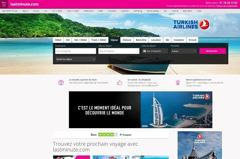 En 20 ans, la marque «qui fait découvrir la vie en rose»  est devenue emblématique sur les marchés européens - DR : Capture d'écran Lastminute.com