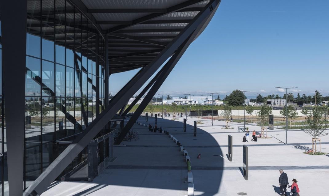 L'aéroport Lyon-Saint Exupéry appartient au groupe VINCI Airports - DR Vinci Airports