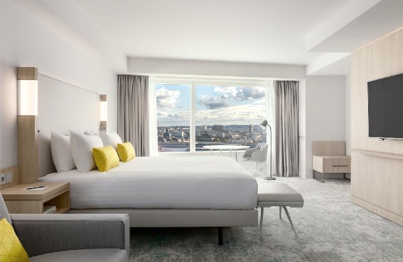 Le Courtyard by Marriott Paris Gare de Lyon compte 249 chambres, dont 78 chambres familiales - DR
