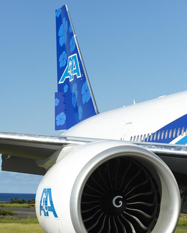 Le vol Marseille - La Réunion est opérée en B77-300 - DR