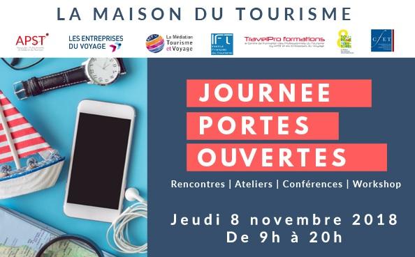 Journée Portes ouvertes le 8 novembre 2018 à Paris - DR