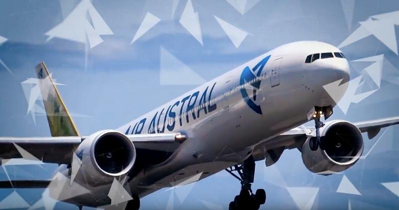 """A l'occasion du Business Forum international numérique Afrique / Océan Indien, Air Austral a organisé son premier """"pitch en lèr"""" - Photo air austral"""