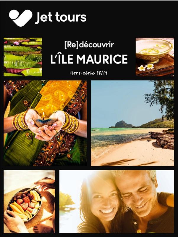 Jet tours dédie une brochure à l'Île Maurice