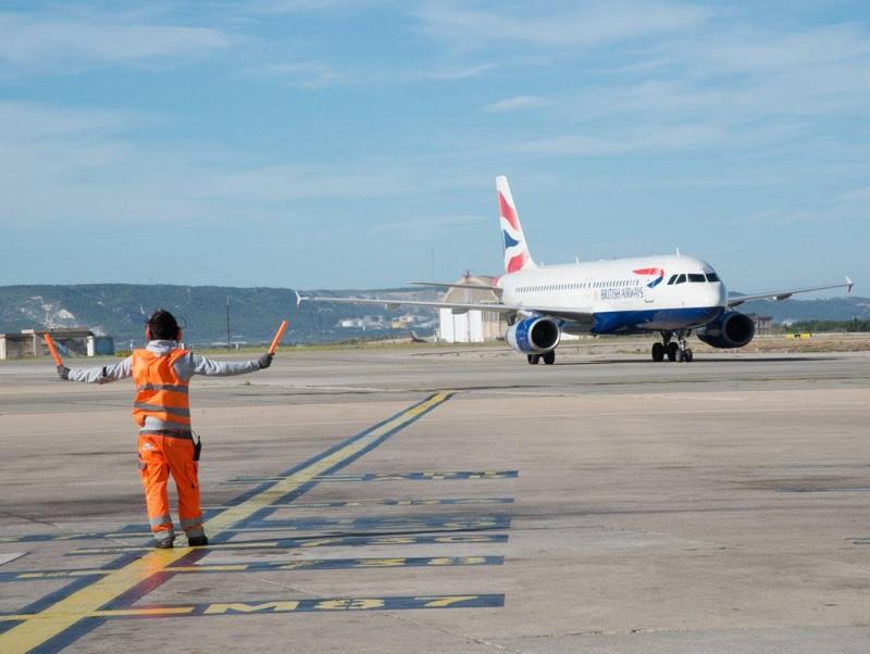 4ème liaison quotidienne entre Londres Heathrow et Marseille Provence mise en place par British Airways - Photo AMP