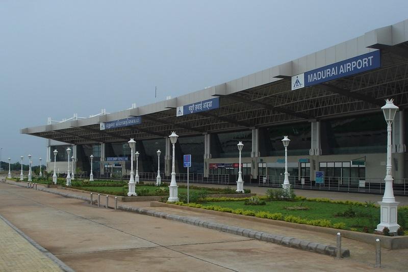 Arrivée possible à Madurai avec le e-Visa - crédit photo: @Wikimedia