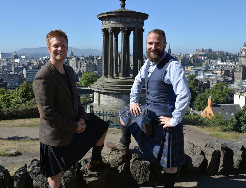 Richard Servranckx et Quentin Gall ont lancé, début 2018, Inspired by Scotland, un nouveau DMC sur l'Ecosse, à destination des agences de voyages affaires - DR : Inspired by Scotland