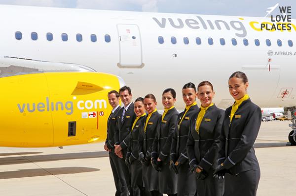 Vueling, des vols entre Montpellier et Barcelone pour les fêtes de fin d'année - Crédit photo : compte Facebook @Vueling