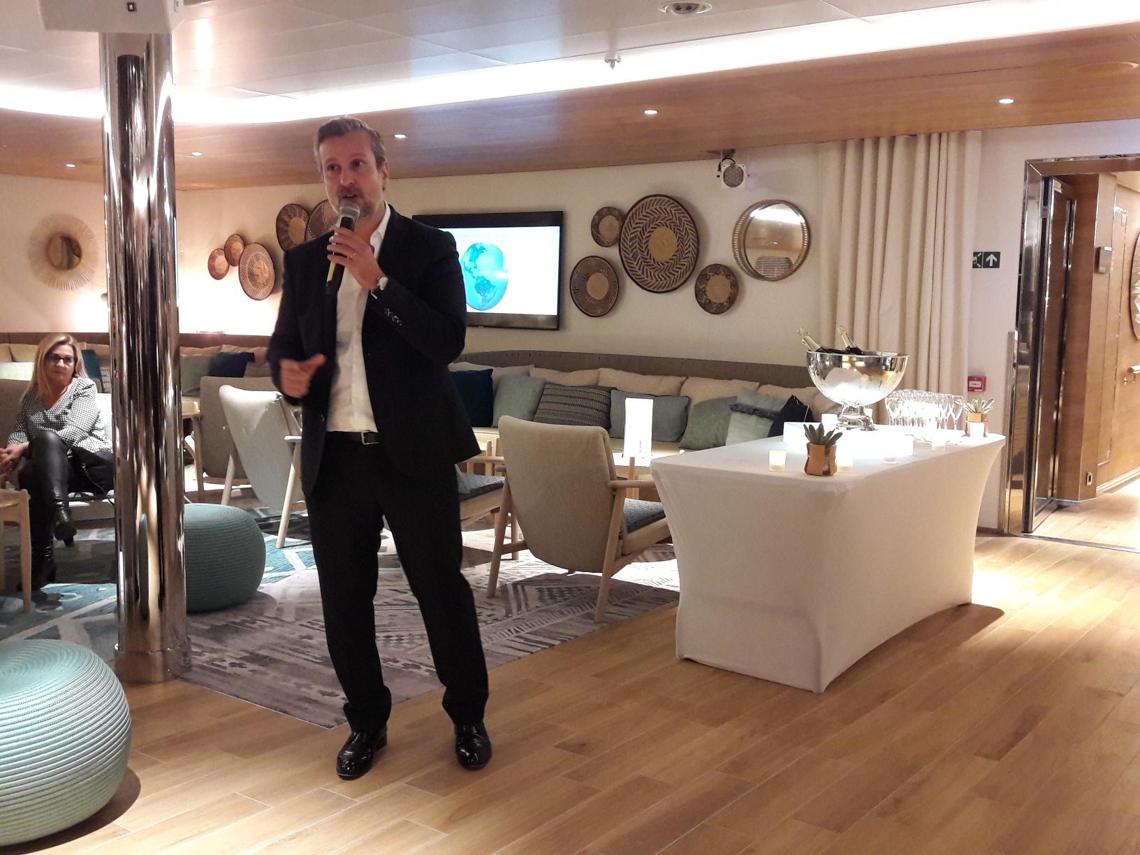 Hervé Bellaïche, directeur général adjoint en charge du commercial et du marketing - DR