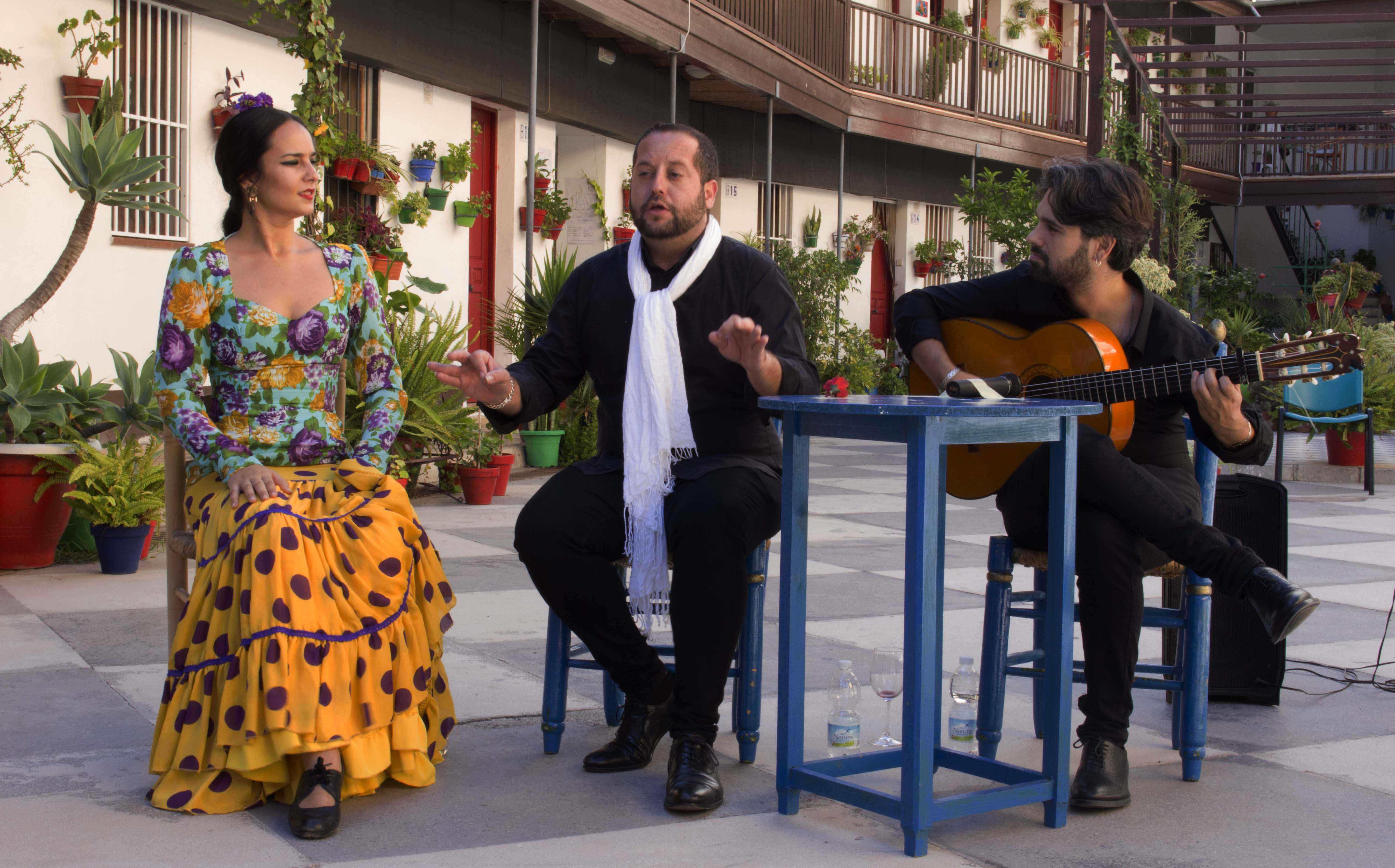 "Flamenco dans un patio andalous ""corralon"" © TourMaG"