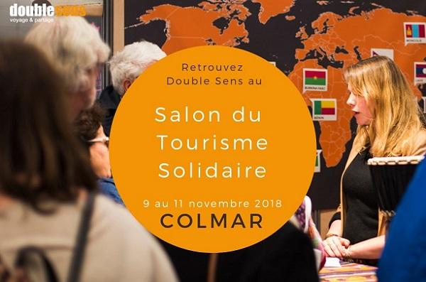 Double Sens présent au salon Solidarissimo - Crédit photo : Double Sens