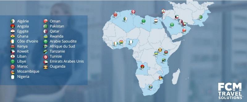 Le groupe est désormais présent sur un total de 22 marchés dans la région - DR : FCM Travel Solutions