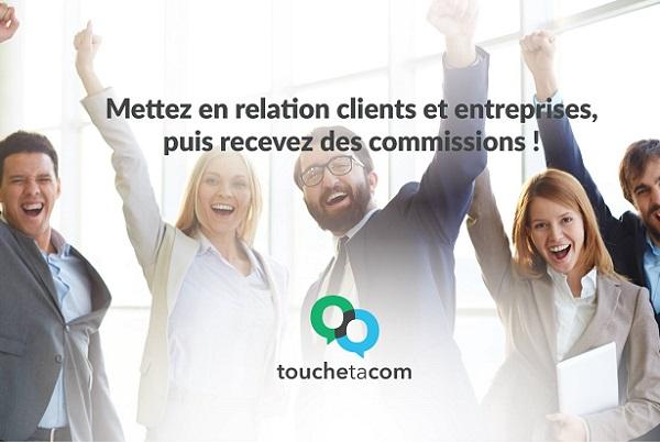 TouchetaCom transforme vos clients en apporteurs d'affaires - Crédit photo : TouchetaCom