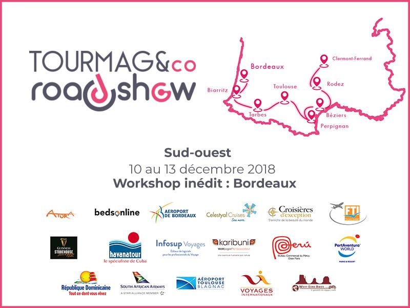 La 13e édition du TourMaG&Co RoadShow prend la route des villes du Sud-Ouest de la France.