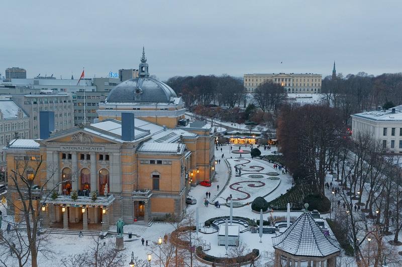 Oslo sous la neige - Photo BM