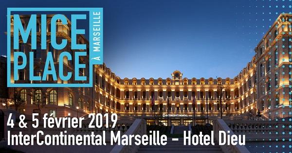 MICE Place le rendez-vous des acteurs de l'événementiel connait ses dates pour 2019 - Crédit photo : Mice Place Marseille